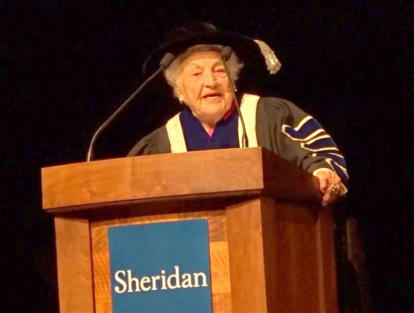 Chancellor Hazel McCallion's Address