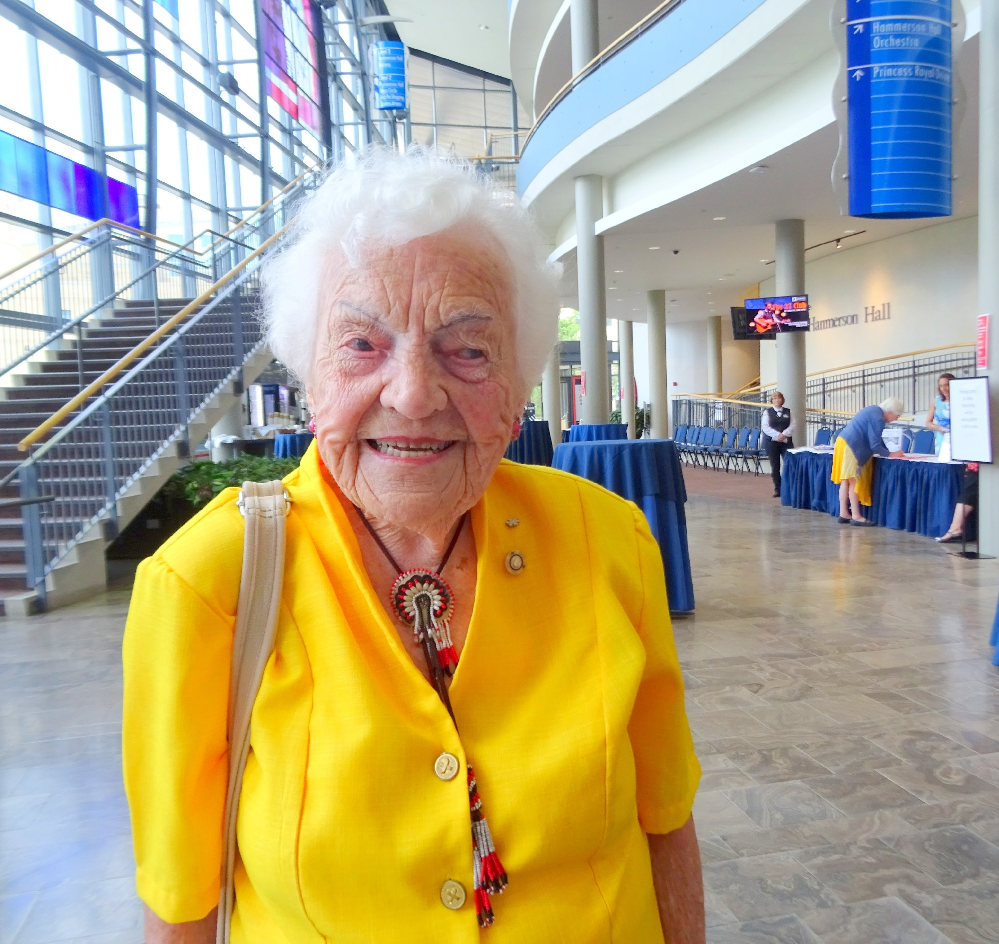 Hazel McCallion, Keynote Speaker, June 18, 2018 Photo by I Lee