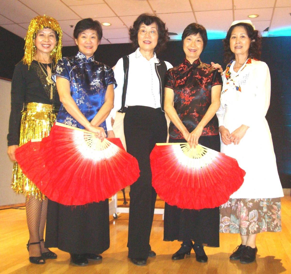 Kathy Lin and Dancers September 2011