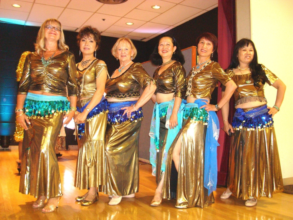 Mary Monardo and Belly Dancers September 2011