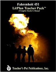 Fahrenheit 451 LitPlan - A Novel Unit Teacher Guide With Daily Lesson Plans (LitPlans on CD)