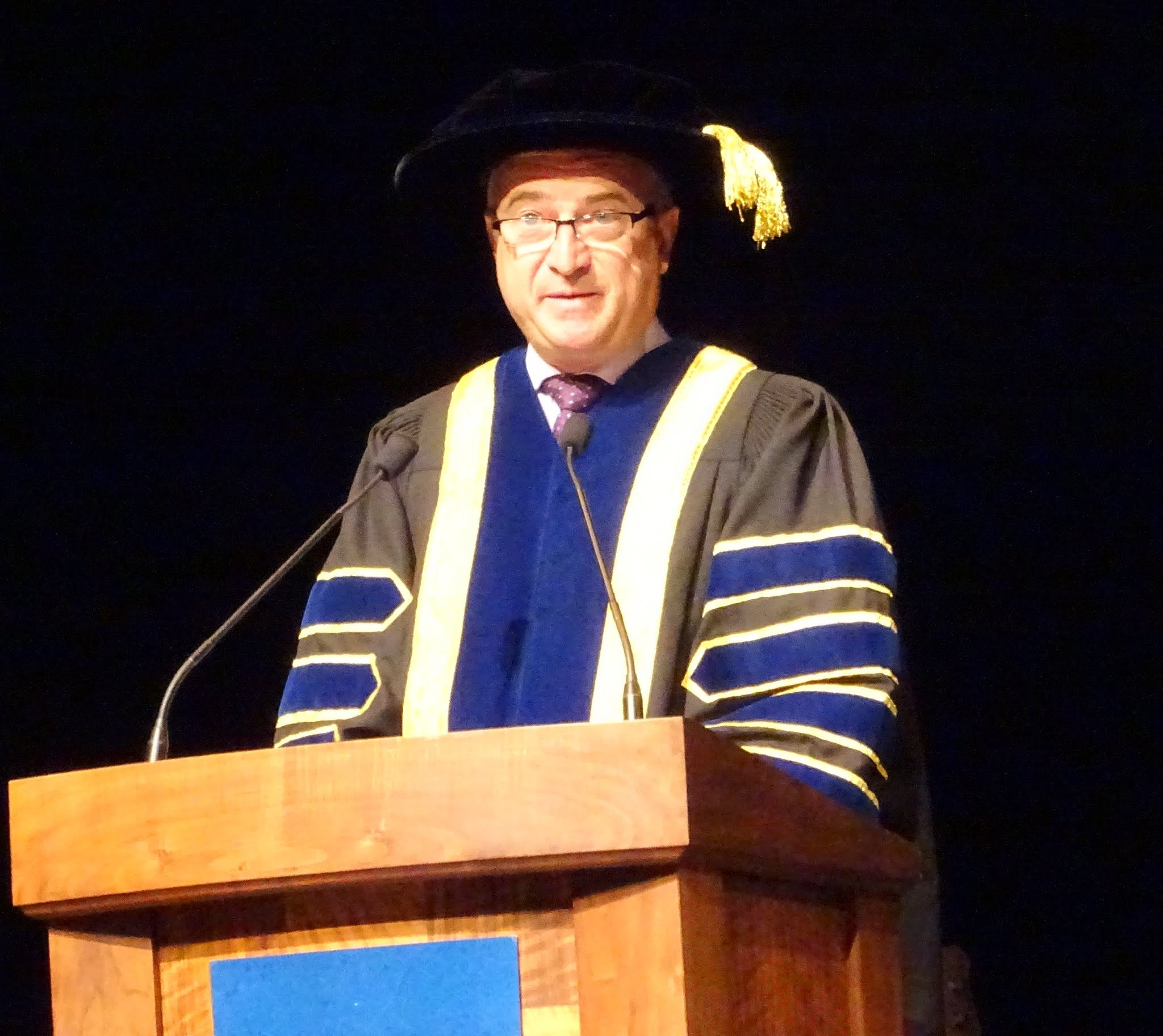 Introduction of Chancellor by Dr. Jeff Zabudsky