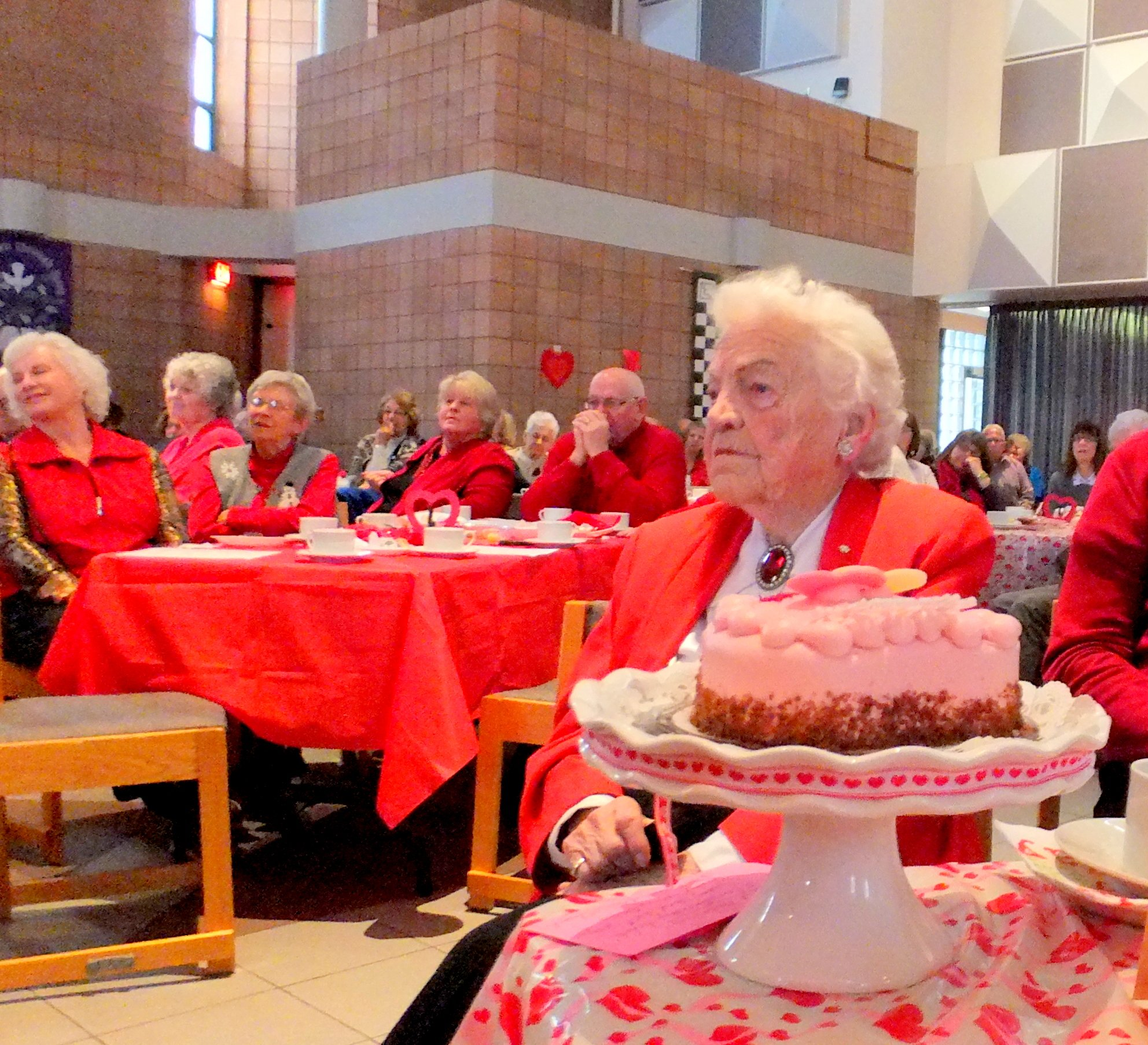 Hazel McCallion 94th Birthday 14 Feb 2015 Photo by I Lee, Eden United Church