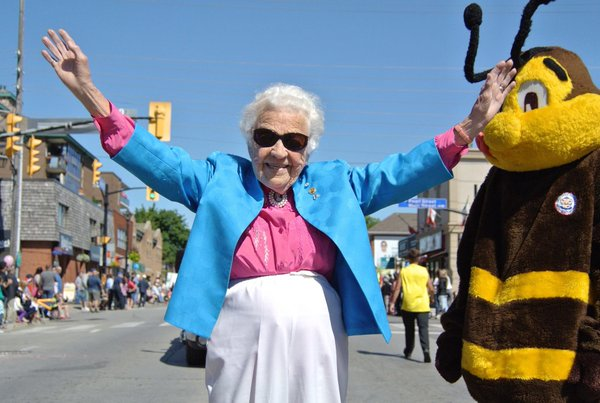 Hazel McCallion turned 95 today Google image from https://storify.com/LouieMissiNews/hazel-mccallion-turned-95-today