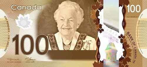 Women on Canadian Bank Notes, Anonymously submitted to change.org 23 Feb. 2015 Google image from http://womenonbanknotes.ca/post/111918983623/anonymous-submittedhazel-mccallion-hazel