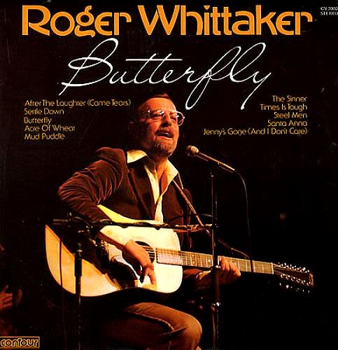 ROGER WHITTAKER Butterfly UK [Vinyl LP record]