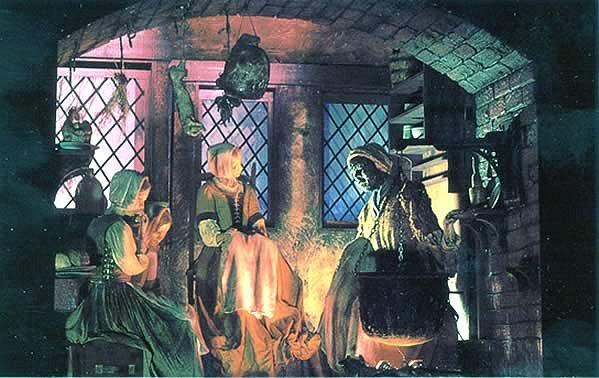 Inside Salem Witch Museum Google image from http://www2.iath.virginia.edu/salem/images/people/titubaswmus1.jpg