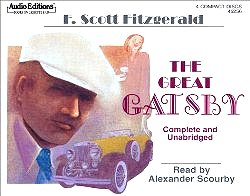 The Great Gatsby (Audio Editions) [Unabridged] (Audio CD) by F. Scott Fitzgerald, Alexander Scourby (Narrator)