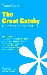 Spark Notes The Great Gatsby (Paperback) by F. Scott Fitzgerald