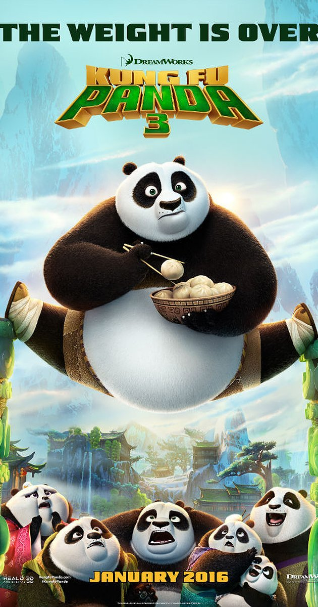 Kung Fu Panda 3 Movie Poster from http://www.imdb.com/title/tt2267968/