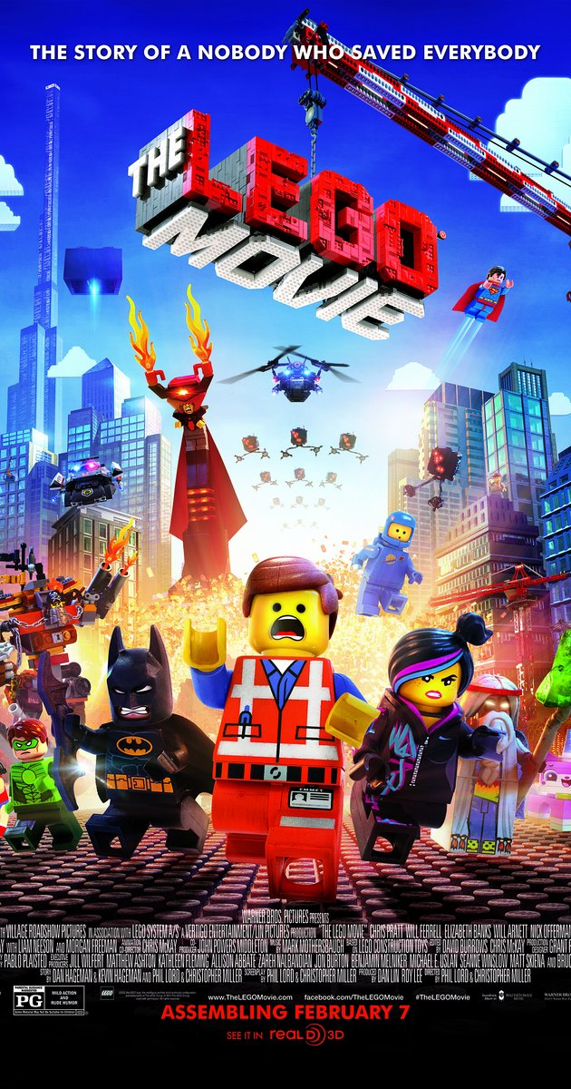 Lego Movie Movie Poster from http://www.imdb.com/title/tt1490017/