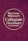 Merriam-Webster's Collegiate Dictionary, 11th Edition (Book with CD-ROM and Online Subscription)