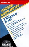 John Knowles's a Separate Peace (Barron's Book Notes) (Paperback) by Neil Baldwin (Author), Michael Spring (Editor)